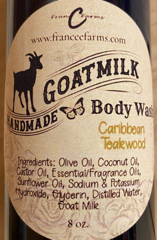 Caribbean Teakwood Body Wash