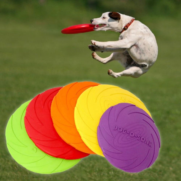 Silicone Flying Discs - Chewy Dog Treats LLC