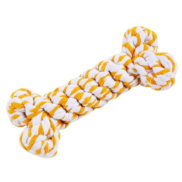 High Quality Pet Chew Rope Creative Bite-Resistant Dog Rope Toy Dog Teething Toy For Puppies Pet Training Supplies Dropshipping - Chewy Dog Treats LLC