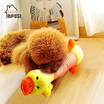 Snailhouse 2019 Cute Plush Anmials Shape Squeak Sound Pet Cat Dog Toys Funny Durable Chew Molar Toy Fit For All Pets Molar Toys - Chewy Dog Treats LLC
