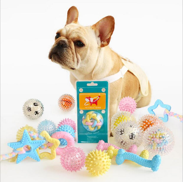 Chew Squeaky Molar Toy - Chewy Dog Treats LLC