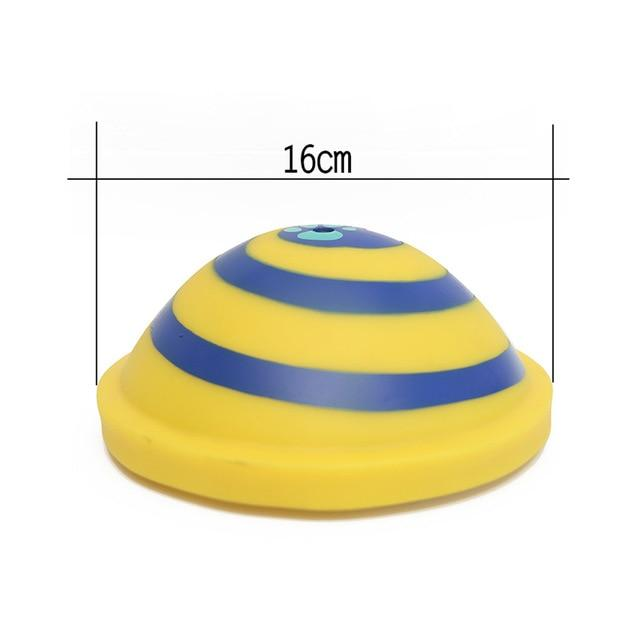 Dog Toys Squeaking Sounding Disc Woof Glider Pet Dogs Interactive Vocal Ball Dog Chewing Dog Tooth Ball Clean Food Ball Pet Toy - Chewy Dog Treats LLC