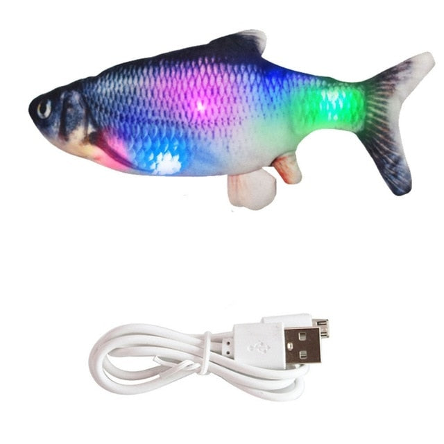 30CM Electronic Pet Cat Toy Electric USB Charging Simulation Fish Toys for Dog Cat Chewing Playing Biting Supplies Dropshiping - Chewy Dog Treats LLC