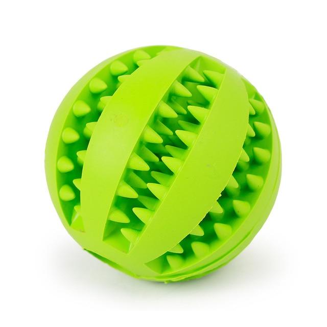 Soft Pet Dog Toys Toy Funny Interactive Elasticity Ball Dog Chew Toy For Dog Tooth Clean Ball Food Extra-tough Rubber Ball Dog - Chewy Dog Treats LLC