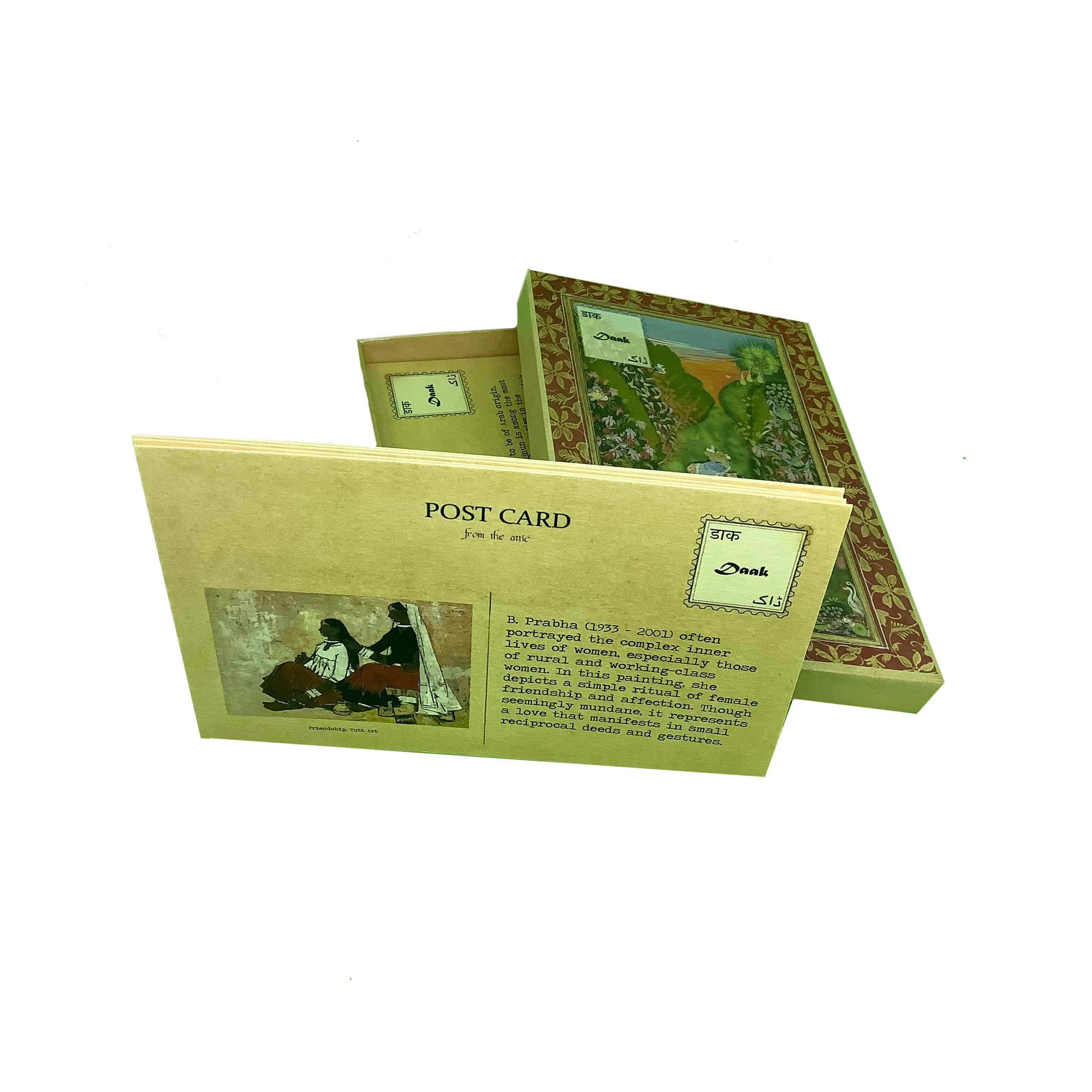 Daak Postcard Box - Postcards of Love from the Subcontinent
