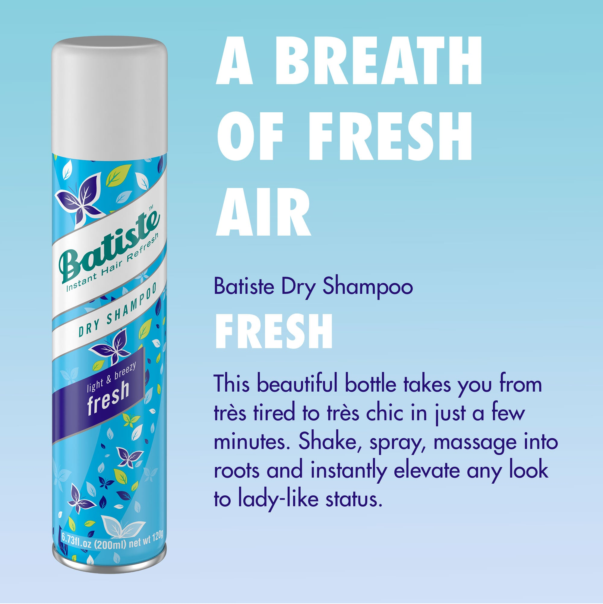 Batiste Dry Shampoo Light & Breezy Fresh