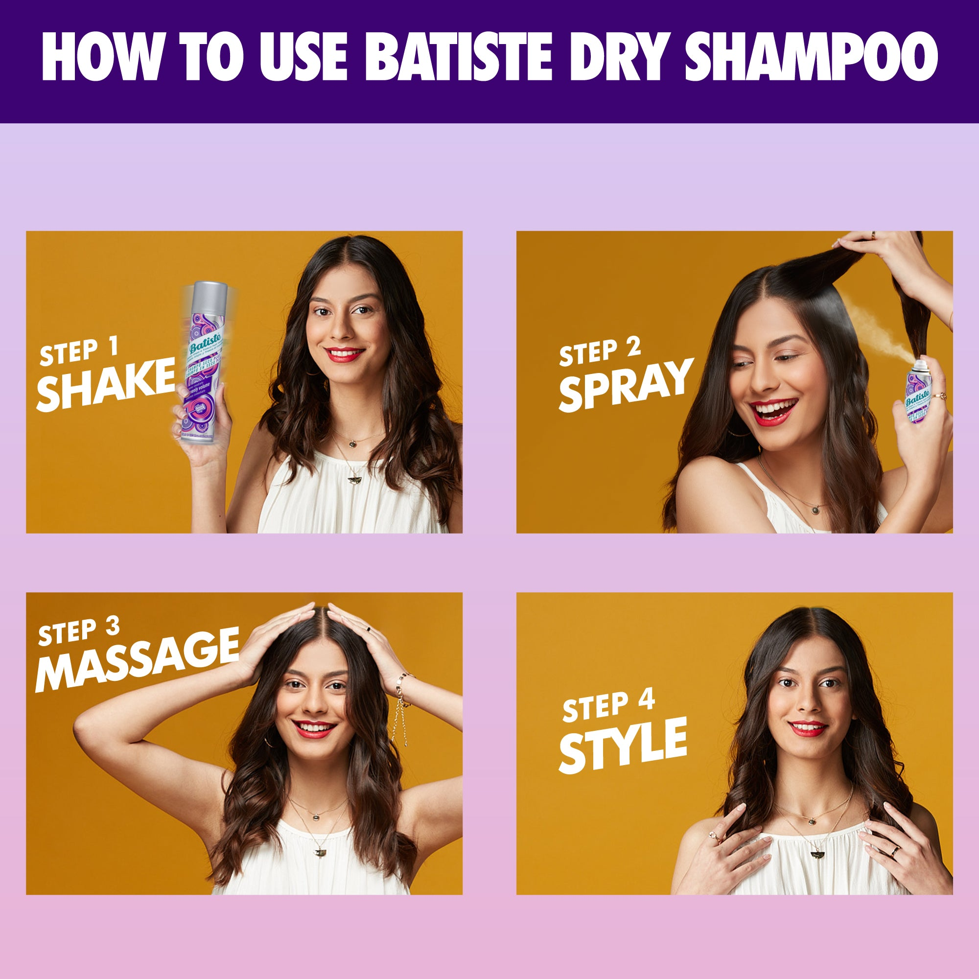 Batiste Dry Shampoo Heavenly volume