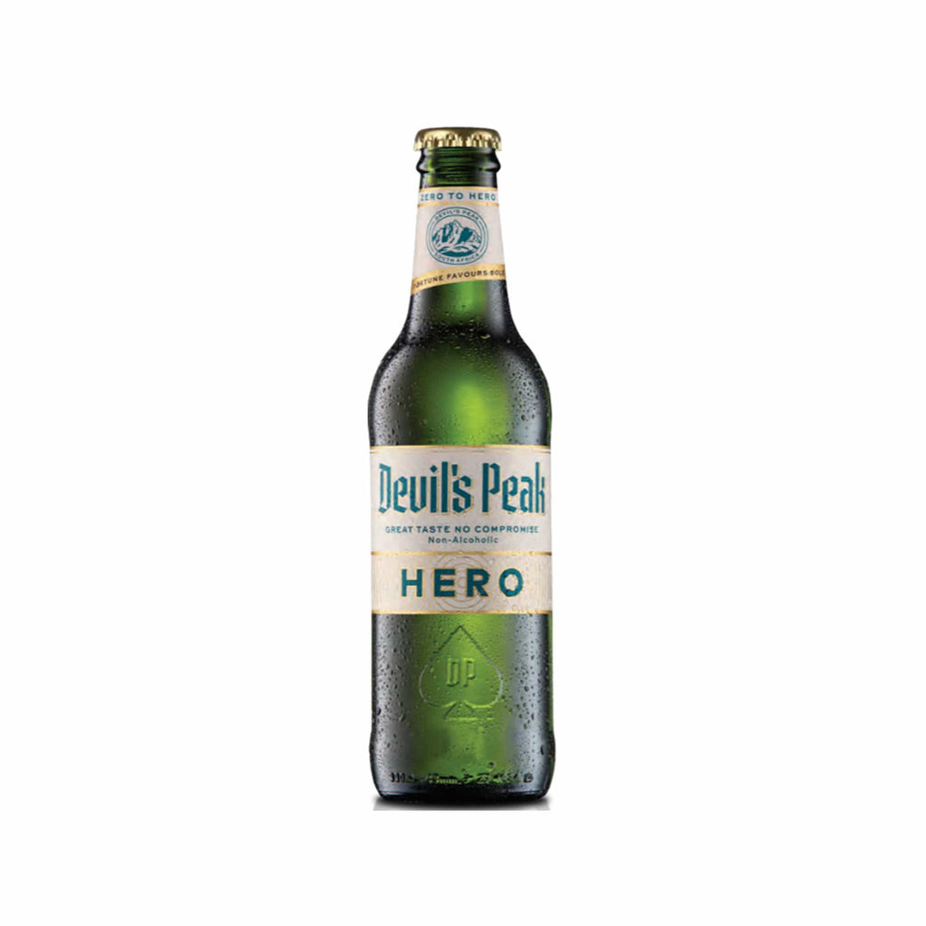 Beer Devil's Peak Hero 0.5% - 6 x 330ml south african wine - Brands From Africa