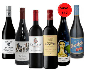 Bank Holiday Special 6 Bottle Red Case offer