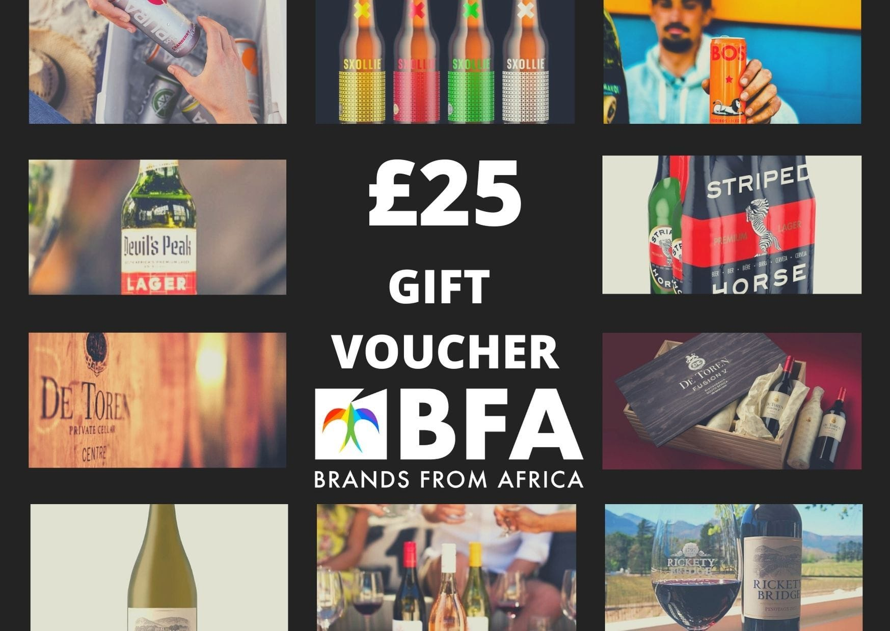 Wine Gift card Brands From Africa