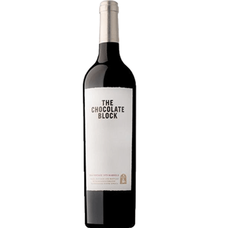Red Wine The Chocolate Block 2018 south african wine - Brands From Africa