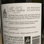 Load image into Gallery viewer, De Westhof Bon Vallon Chardonnay