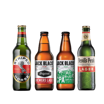 Cape Craft Lager and Pale Ale Case south african wine - Brands From Africa