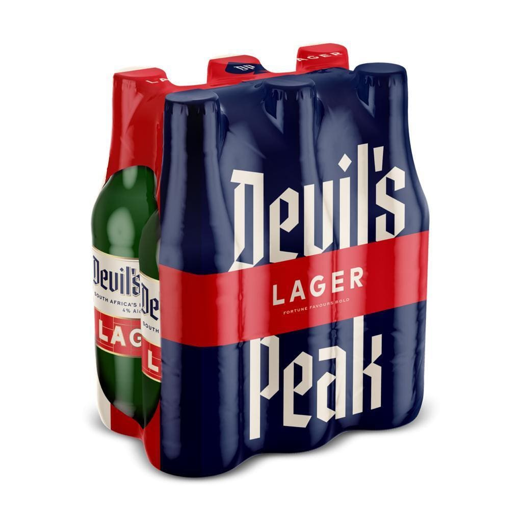 Devil's Peak Lager 24 x 330ml Case south african wine - Brands From Africa