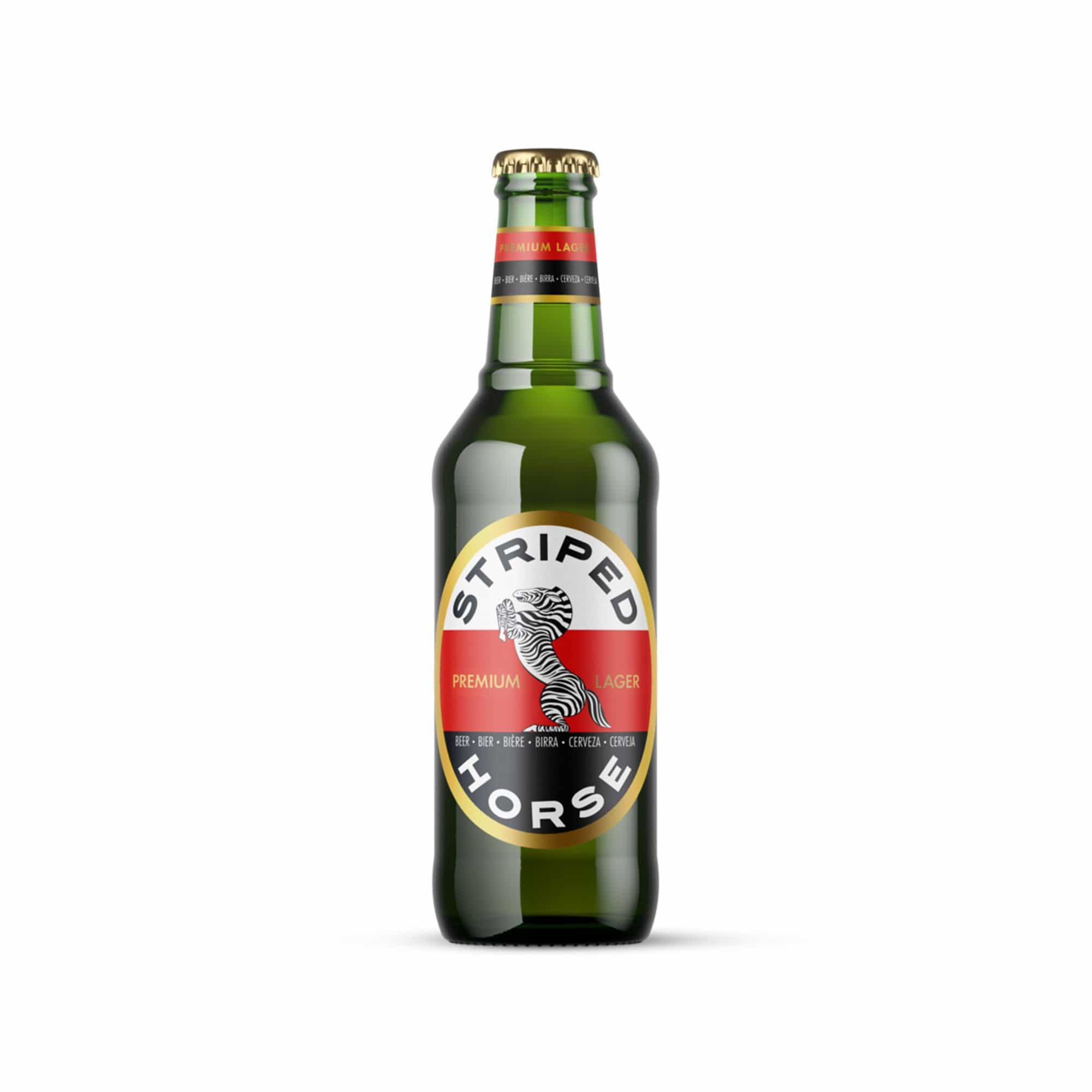 Beer Striped Horse Lager - 6 x 330ml south african wine - Brands From Africa