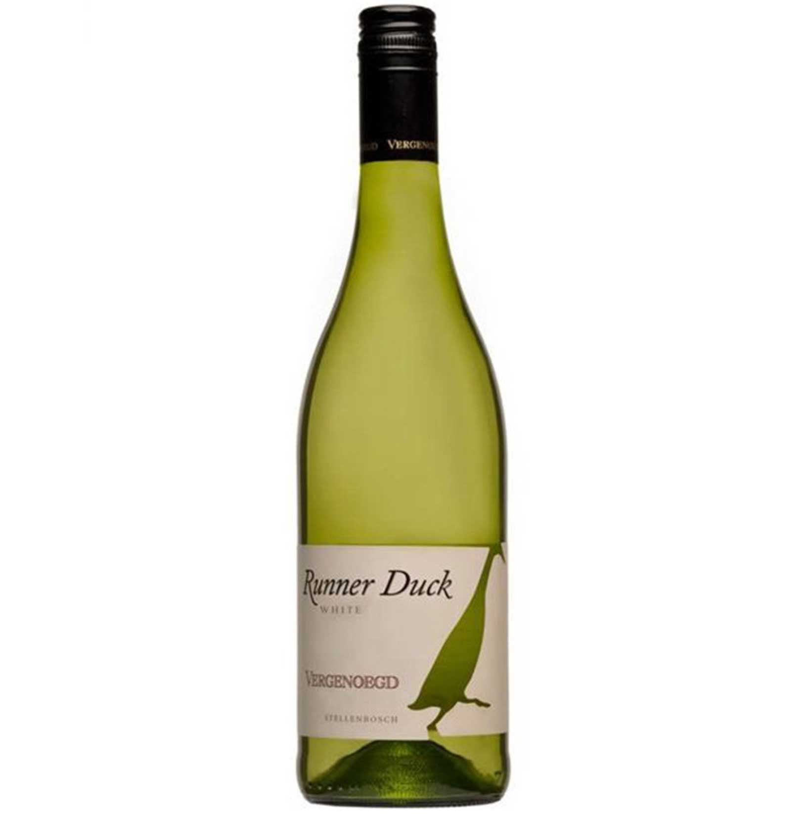 White Wine Vergenoegd Runner Duck White south african wine - Brands From Africa