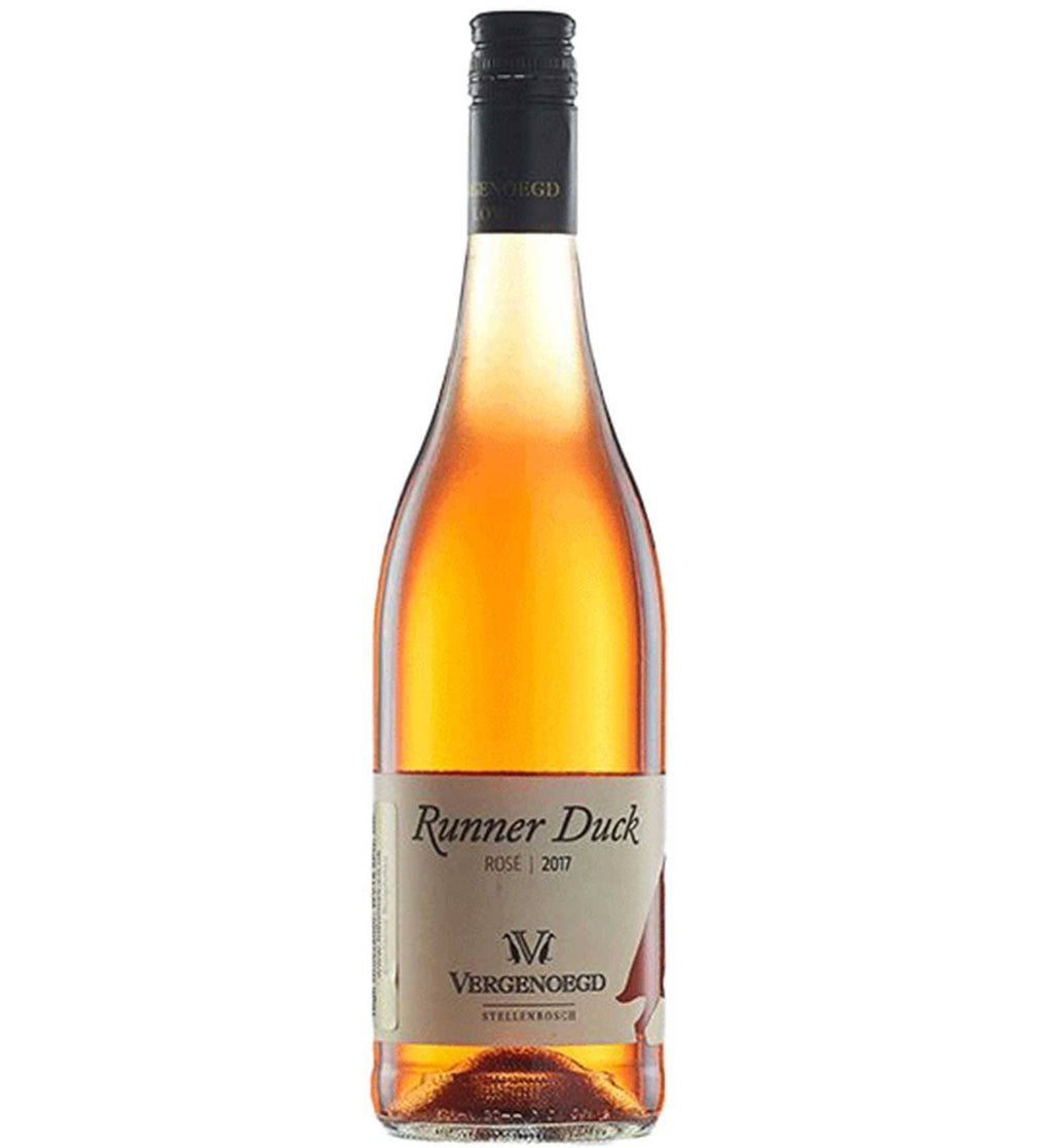 Rose Vergenoegd Runner Duck Rose 2017 south african wine - Brands From Africa