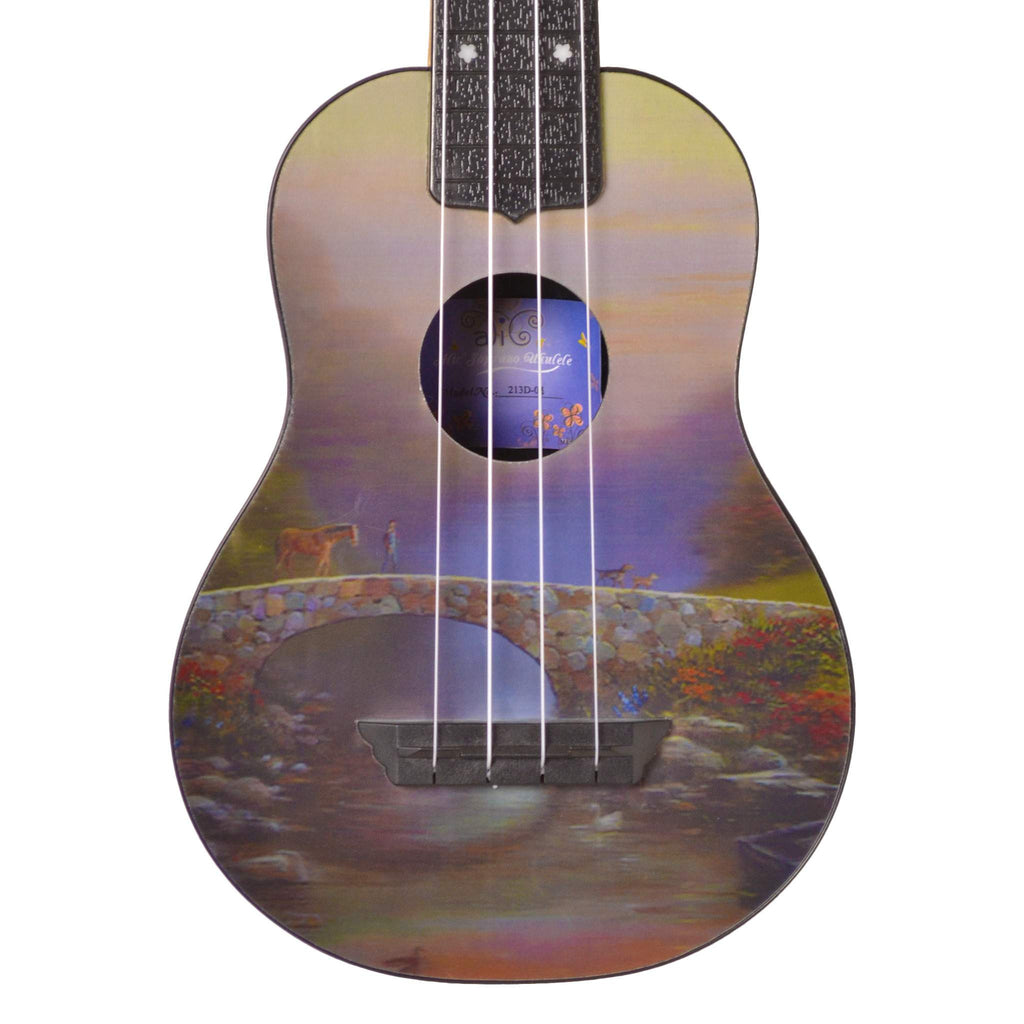 Alic Ukulele 3-D 02 Bridge Ukuleles, Alic, Sounds Great Music