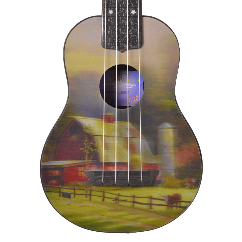 Alic Ukulele 3-D 03 Farm House Ukuleles, Alic, Sounds Great Music