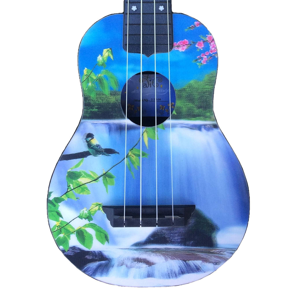 Alic Ukulele 3-D 04-Waterfall Ukuleles, Alic, Sounds Great Music