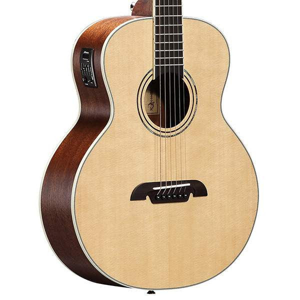 Alvarez LJ60E Travel Series Natural Acoustic Guitar, Alvarez, Sounds Great Music