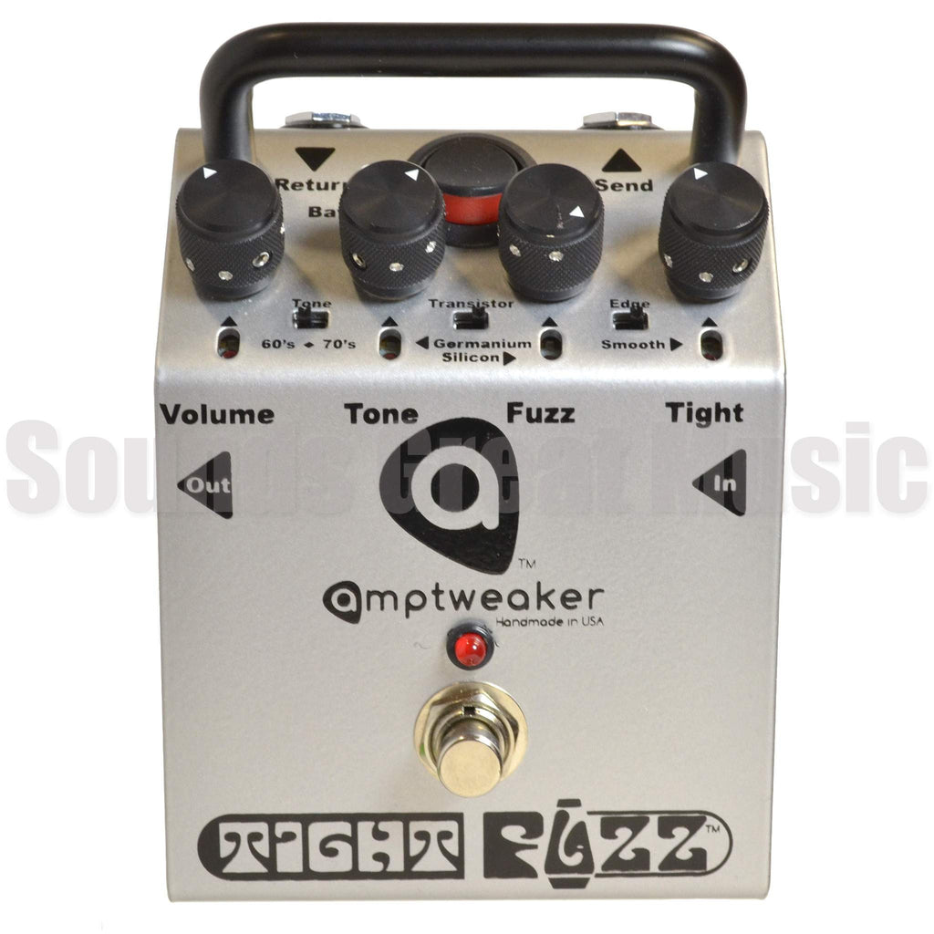 Amptweaker TightFuzz Second Hand Stomp Box, Amptweaker, Sounds Great Music