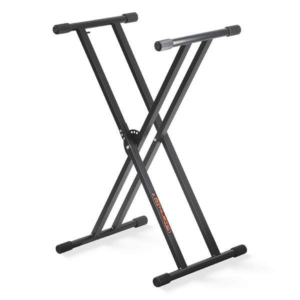 Athletic KB-2EX Keyboard Stand with Express Lock Keyboard Accessories, Athletic, Sounds Great Music