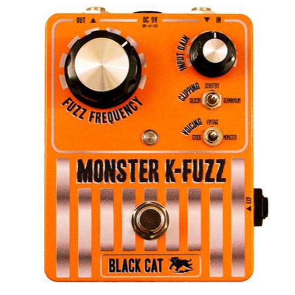 Black Cat Monster K Fuzz Stomp Box - Stomp Box - Black Cat - Sounds Great Music