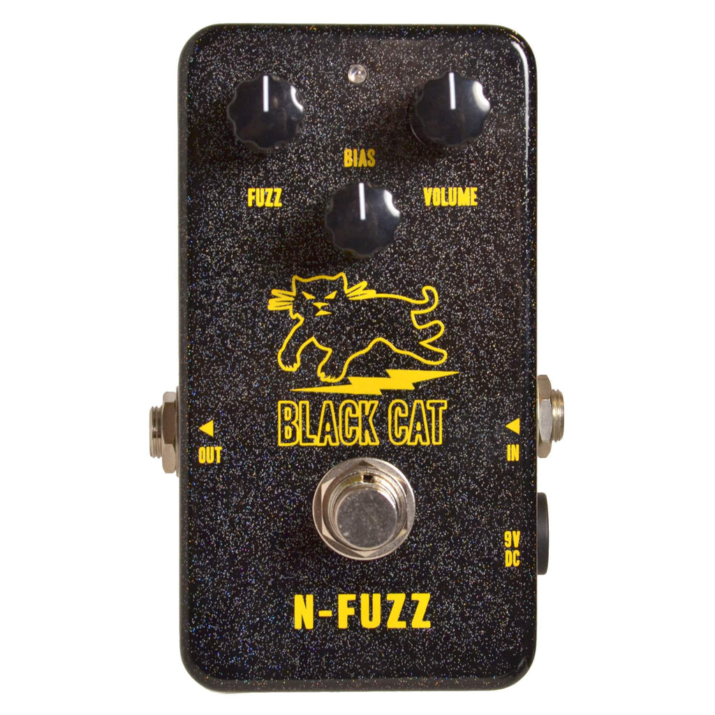 Black Cat N-Fuzz - Stomp Box - Black Cat - Sounds Great Music