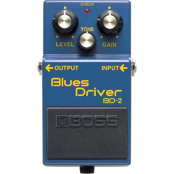 Boss BD-2 Blues Driver Stomp Box, Boss, Sounds Great Music