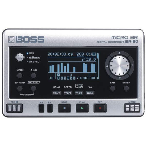 Boss BR-80 Digital Recorder - Digital Recorders - Boss - Sounds Great Music