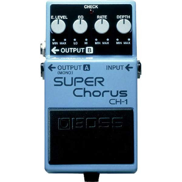 Boss Ch-1 Super Chorus Stomp Box, Boss, Sounds Great Music