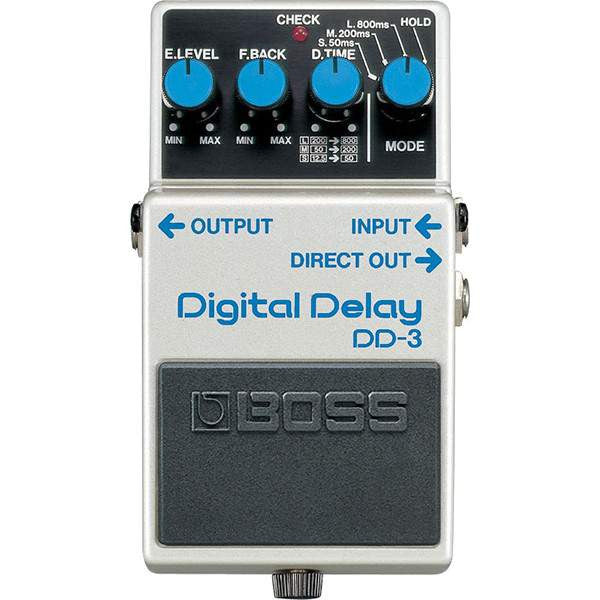 Boss DD-3 Digital Delay Stomp Box, Boss, Sounds Great Music
