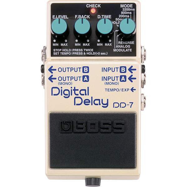 Boss DD-7 Digital Delay Stomp Box, Boss, Sounds Great Music