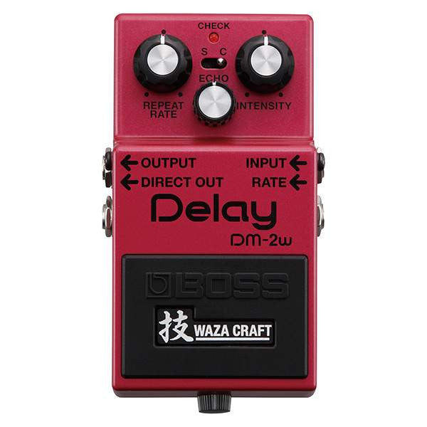 Boss DM-2W Delay Waza Craft Special Edition Stomp Box, Boss, Sounds Great Music