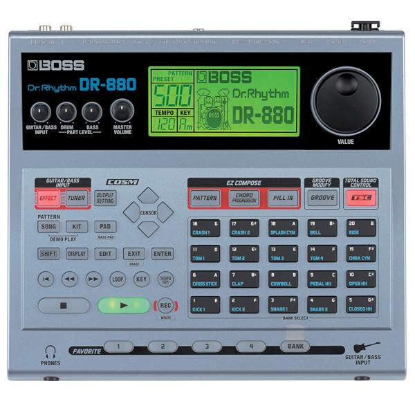 Boss DR880 Dr Rhythm Drum Machines, Boss, Sounds Great Music