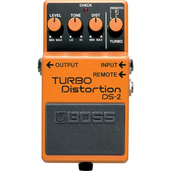 Boss DS-2 Turbo Distortion - Stomp Box - Boss - Sounds Great Music