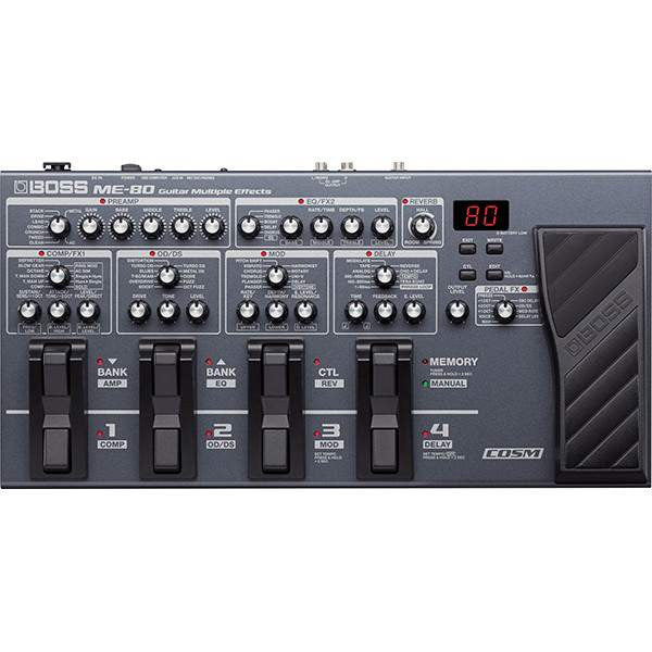 Boss ME-80 Multi FX - Multi FX - Boss - Sounds Great Music