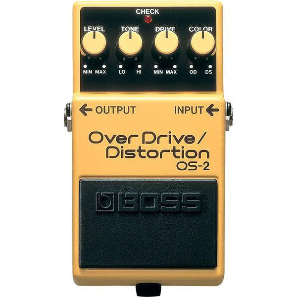 Boss OS-2 Overdrive-Distortion - Stomp Box - Boss - Sounds Great Music