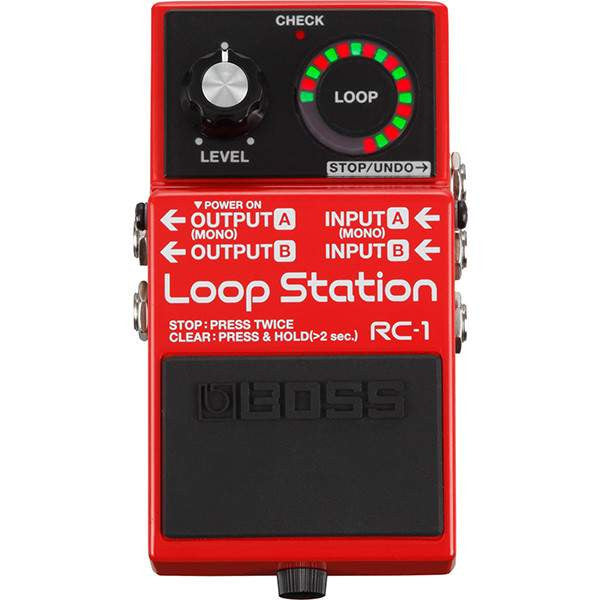 Boss RC-1 Loop Station - Stomp Box - Boss - Sounds Great Music