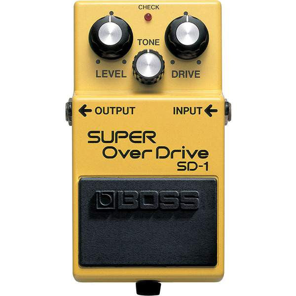 Boss SD-1 Overdrive Stomp Box, Boss, Sounds Great Music