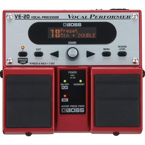 Boss VE-20 Vocal Performer - Stomp Box - Boss - Sounds Great Music