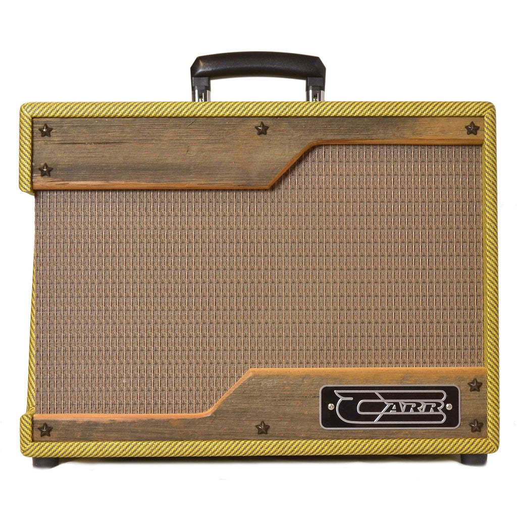 Carr Raleigh Tweed with Barn Wood Panels - Combos - Carr - Sounds Great Music