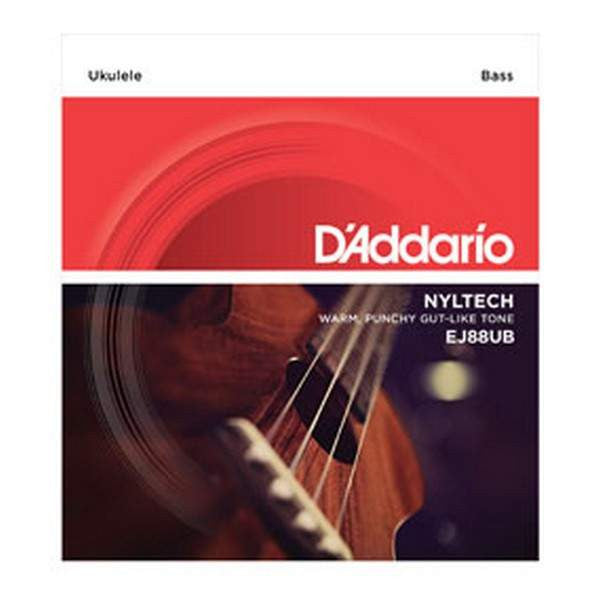 D'Addario Nyltech Bass Ukulele, EJ88UB Ukulele Strings, D'Addario, Sounds Great Music