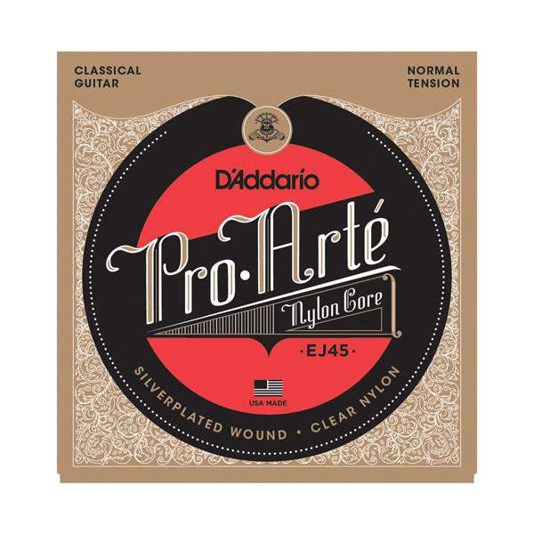 D'Addario Pro-Arte Classical Guitar Strings Guitar Strings, D'Addario, Sounds Great Music