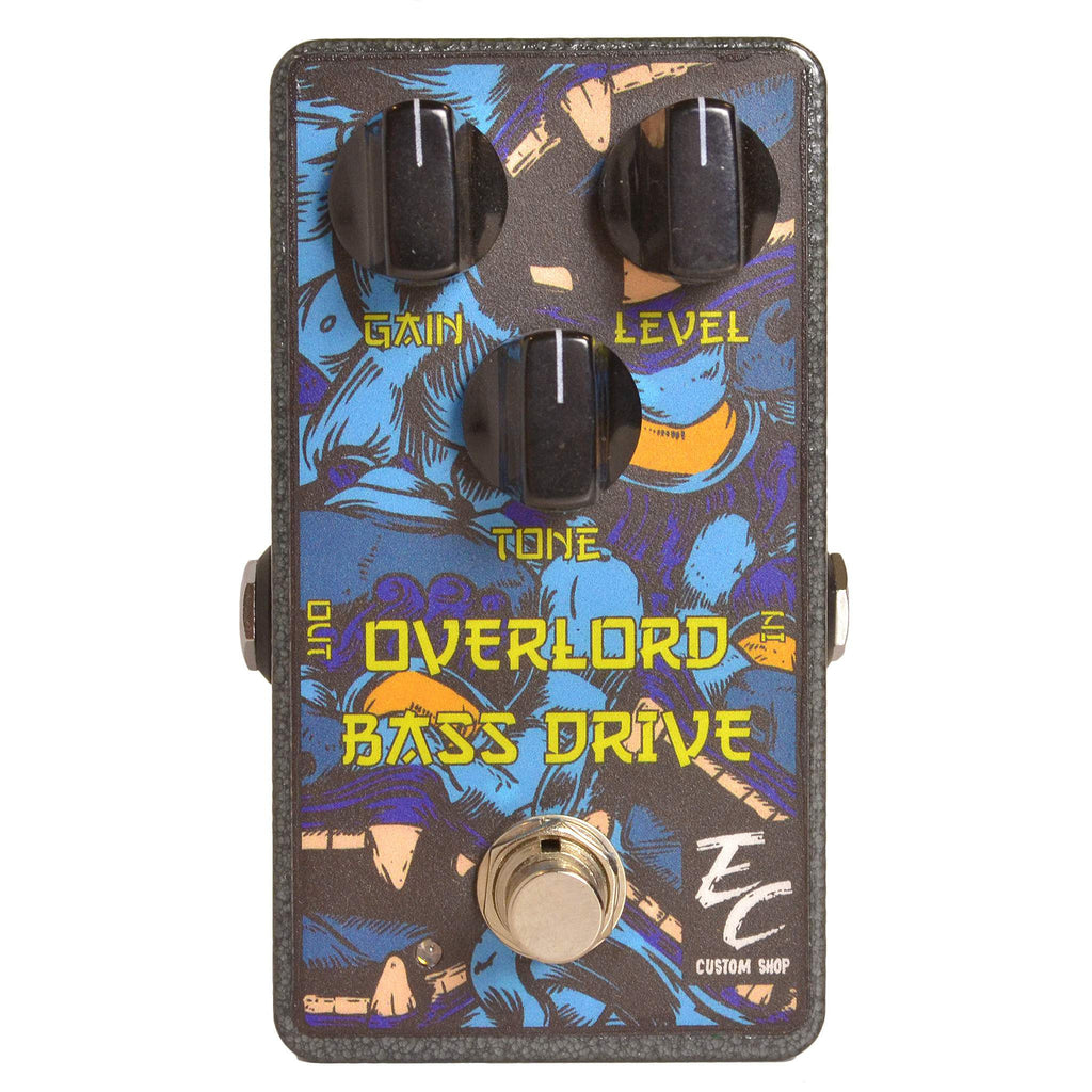 EC Custom Bass Overlord Drive Stomp Box, EC Custom Shop, Sounds Great Music