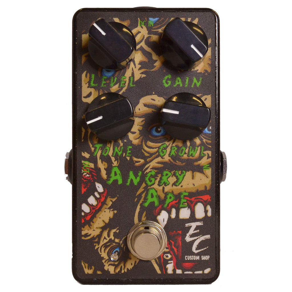 EC Custom Shop Angry Ape Gate Fuzz Stomp Box, EC Custom Shop, Sounds Great Music