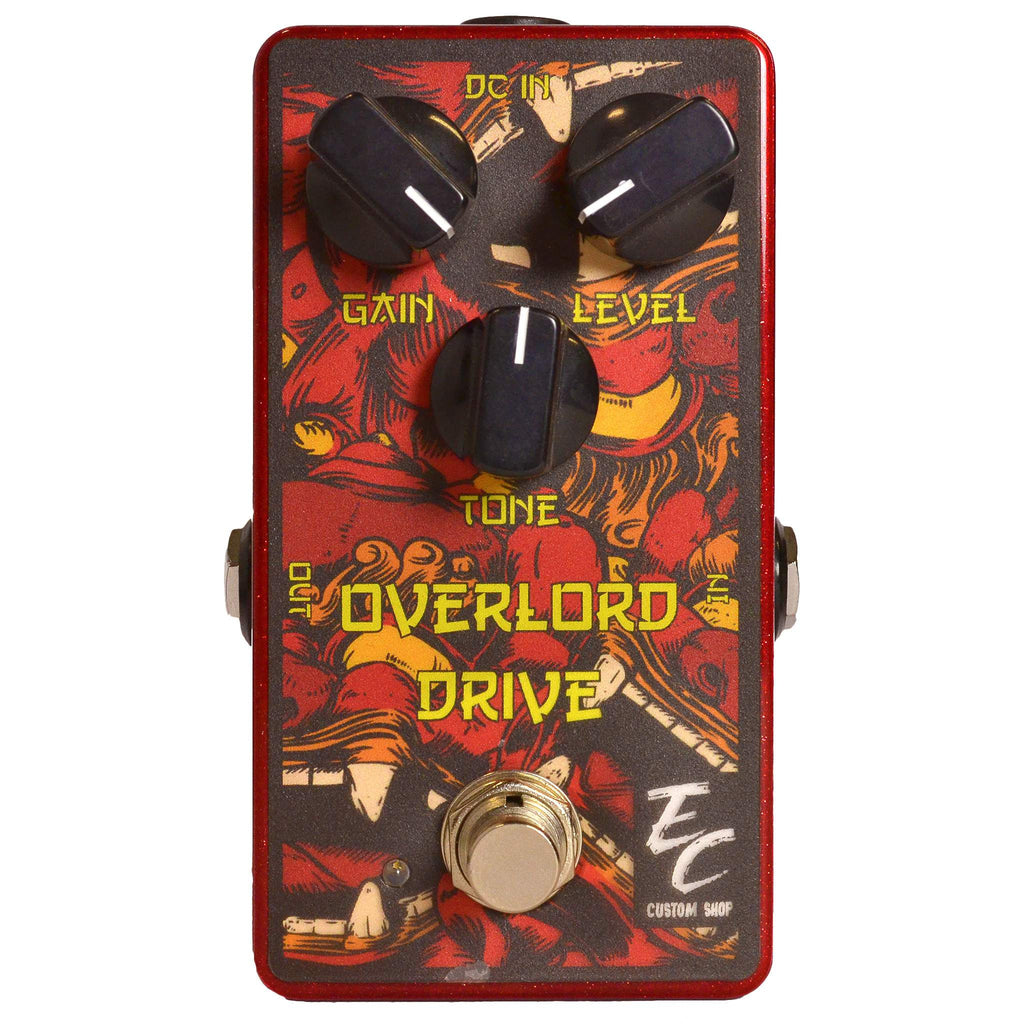 EC Custom Shop Overlord Sweet Overdrive Stomp Box, EC Custom Shop, Sounds Great Music