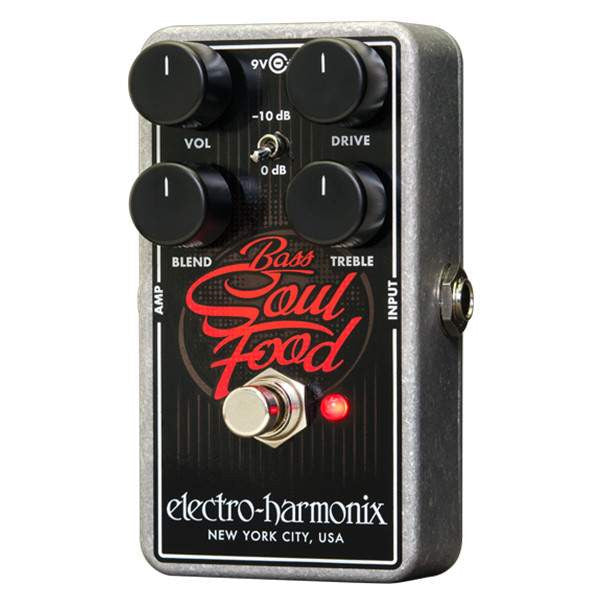 Electro Harmonix Bass Soul Food - Stomp Box - Electro Harmonix - Sounds Great Music