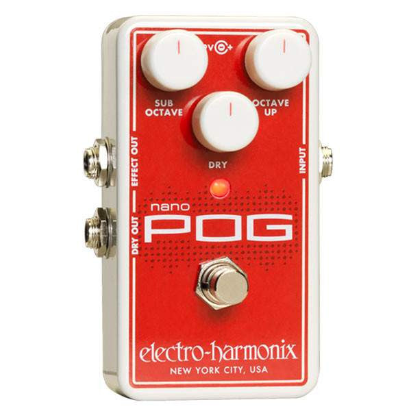 Electro Harmonix Nano Pog - Stomp Box - Electro Harmonix - Sounds Great Music